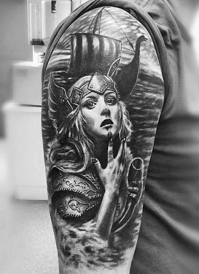 Реализм – это стиль татуировки