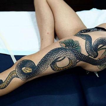 Значение татуировки со змеей